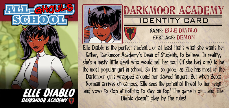ALL-GHOULS SCHOOL STUDENT BODIES: ELLE DIABLO